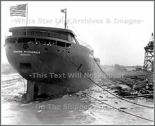 Photo: The Launch Of The SS Edmund Fitzgerald River Rouge, Michigan June 7, 1958