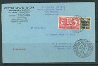 Luftpostbrief: Brasilien nach Leipzig 25.5.31 mit Luftpost befördert