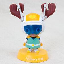 Dragon Ball Z x One Piece Bobble Head Figure Chopper Man × Great Saiyaman JAPAN