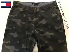 Tommy Hilfiger Grey Urban Camo Pants 32/34 Hip Hop Street Skate Style