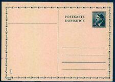Briefmarken aus Böhmen & Mähren (bis 1945) als Ganzsache