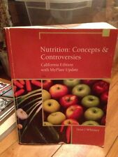 Nutrition : Concepts and Controversies with CA MyPlate Update (CD) unopened