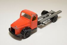 II 1:50 CHICO TOYS COLOMBIA VOLVO TRUCK CAMION ORANG BLACK EXCELLENT CONDITION