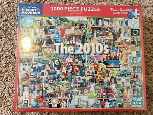 Brand New White Mountain The 2010s 100 Piece Jigsaw Puzzle!