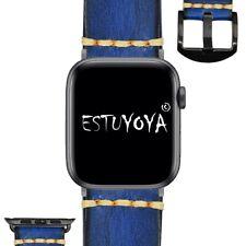 Pulsera de Cuero para Apple Watch Vintage 42mm/44mm iWatch Series 6/5/4/3/2/1/SE