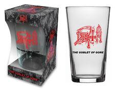 Death VETRO BIRRA/BEER GLASS # 1 the Goblet of Gore-Pinta 570 ML