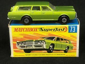 *VHTF Matchbox MB73-A1 Mercury Commuter *wide wheels & arches + Type G Box