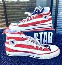 Vintage Converse Stars & Bars USA Made Mens 10