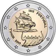 PORTUGAL 2 E. 2015 -  TIMOR - SIN CIRCULAR