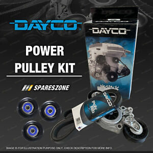 Dayco Drive Belt & Tensioner Kit for Ford Falcon Fairmont EB ED EF EL XH