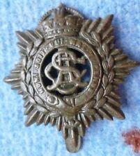 Badge- WW1 British Army Service Corps Cap Badge ASC Badge (BRASS, Org)