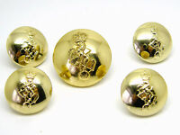 5 X ROYAL ELECTRICAL AND  MECHANICAL ENGINEERS ORIGINAL VINTAGE ARMY BUTTONS