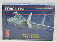 McDonnell Douglas F-15 C Eagle Brand NEW Sealed Plastic Model Kit 1990 AMT 1/144