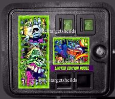 GHOST BUSTERS PINBALL LE COIN DOOR DECAL 3 PIECE SET