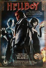 Hellboy (DVD, 2004, 2-Disc Set) - Region 4 DVD
