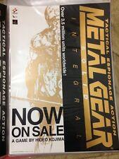 METAL GEAR SOLID Integral Poster 04 Promo