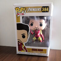 Funko POP Customized Avengers Vinyl Figure Iron Man #384 With Box