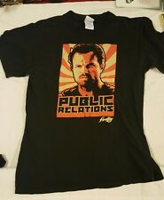 Firefly Serenity Vintage Jayne Cobb Shirt Black Mens Medium Public Relations