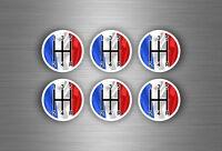 6x sticker aufkleber schaltknauf tuning jdm schalthebel frankreich fahne flagge