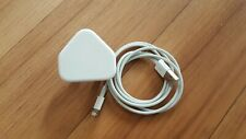 Genuine Apple iPhone  Charger  Plug and USB Data Cable