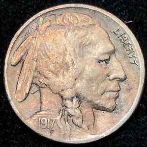 Buffalo Nickels Clear Date G//VF 1937 PDS 3 Coins