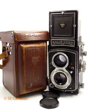 ROLLEI ROLLEICORD VA TYPE 2 TLR CAMERA XENAR 3.5 LENS WITH CASE