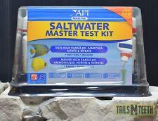 API Saltwater Master Test Kit - Hi Range pH, Ammonia, Nitrite, Nitrate 550 Tests