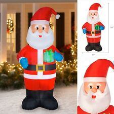 🎄Holiday Time Santa Claus with Gift Inflatable 🌟7 FT TALL🌟