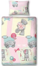 Official Me To You Vintage Single Duvet Cover Bed Set Tatty Teddy