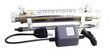 UV System ultra violet sterilization RO Water Filter KillBacteria ReverseOsmosis