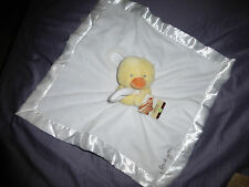 "NWT Carter's  Yellow ""Duckie - I Love You"" Plush Snuggle Security Blanket"