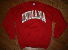 Indiana IU Hoosiers Sweatshirt Shirt vintage Men XL basketball/football/golf/NEW