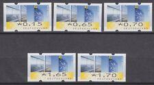 Bund ATM 7 VS 1 ** 2008 Post-Tower 5 Werte Versandstellensatz