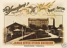 Yuengling Beer brewery Richmond VA  art poster print SKU3692