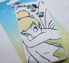 For iPhone SE 5S - SOFT SILICONE RUBBER SKIN CASE COVER Disney Tinkerbell Yellow