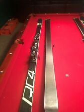 Fischer RC4 188 GS Skis with bindings. Used for one season.