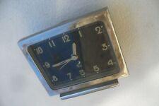 JAZ METRIC 1953 À 1957 Voyage Table Réveil ancien calibre 1J