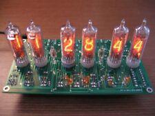Nixie Tube Clock Kit for IN-16 tubes