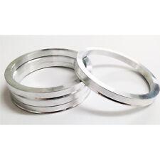 54.1 - 75.0 Alloy Wheel Hub Centric Aluminium Spigot Rings Wheel Spacer Set of 4