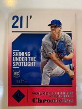 2018 MLB CHRONICLES WALKER BUEHLER ROOKIE PINK /25 LOS ANGELES DODGERS