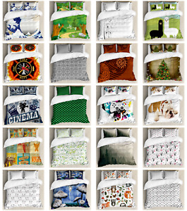 Ambesonne Bedroom Decor Machine Washable Duvet Cover Set in 3 Sizes