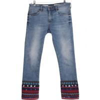 Anthropologie Pilcro & the Letterpress Womens Denim Blue Straight Jeans Size 27