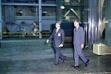 New 5x7 NASA Photo: John F. Kennedy with Wernher von Braun
