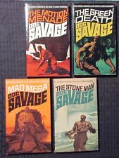 1971/76 DOC SAVAGE by Kenneth Robeson #64-81 FN-/FVF Bantam Paperback LOT of 4