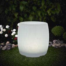 XL LED Solarleuchte Trommel Leuchte 30x38cm Farbwechsel RGB LK08 Gartenleuchte *