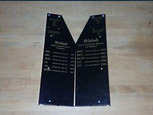 McIntosh Panloc Mounting Bracket Sets C22 C24 C26 MR67 MR71 MR73 MX110 MC2505