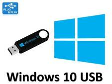 Windows 10 Pro Professional 32/64bit Licence + Bootable USB key - 100% Genuine