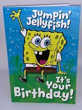 HallMark Spongebob Birthday Card