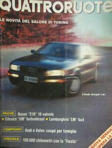 QUATTRORUOTE APRILE 1990
