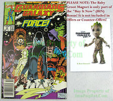 Guardians Of The Galaxy 5 GOTG2 1st Appear Mainframe BIN Bonus Baby Groot Magnet